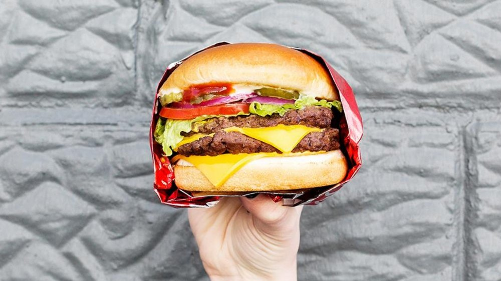 wendy's double burger