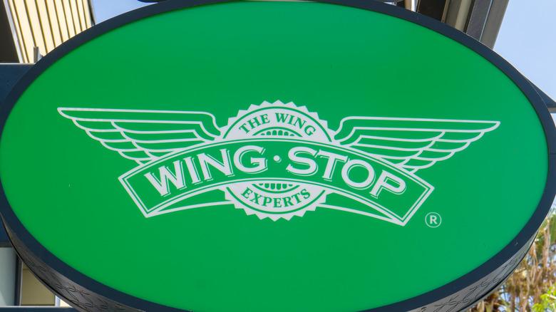 Wingstop sign