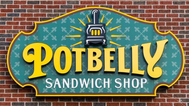 Potbelly Sandwich Shop sign