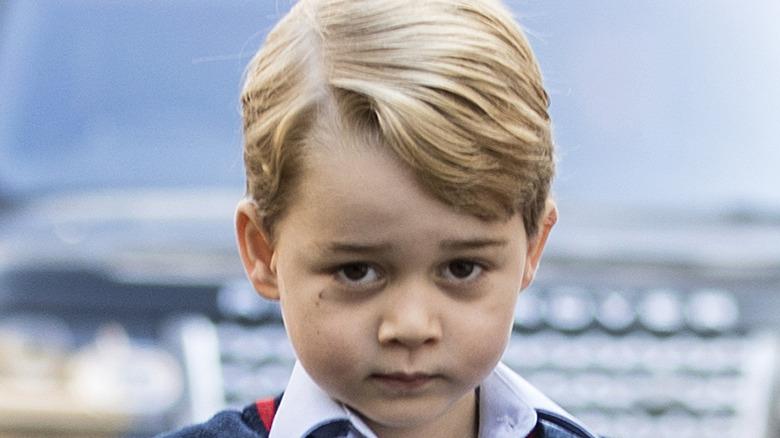Prince George close-up