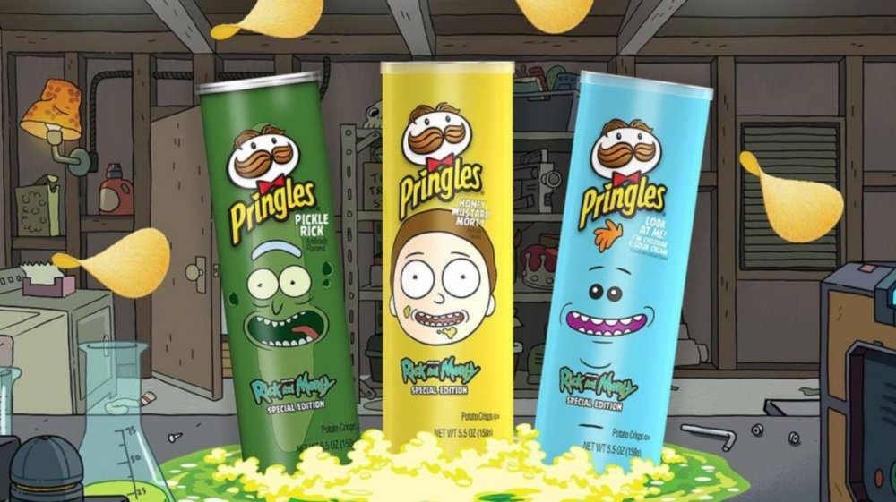 New Rick and Morty Pringles flavors