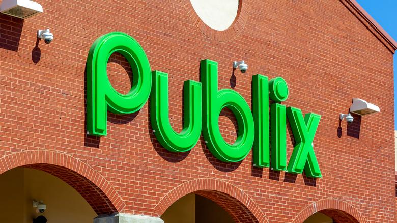 Outside of a Publix