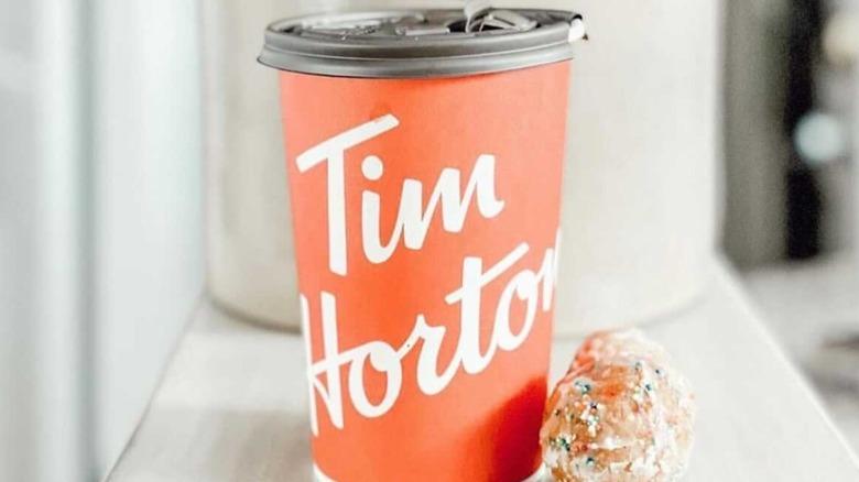 Tim Hortons Pumpkin theme
