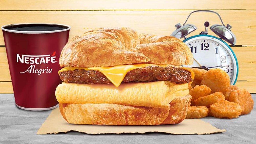 Burger King breakfasts