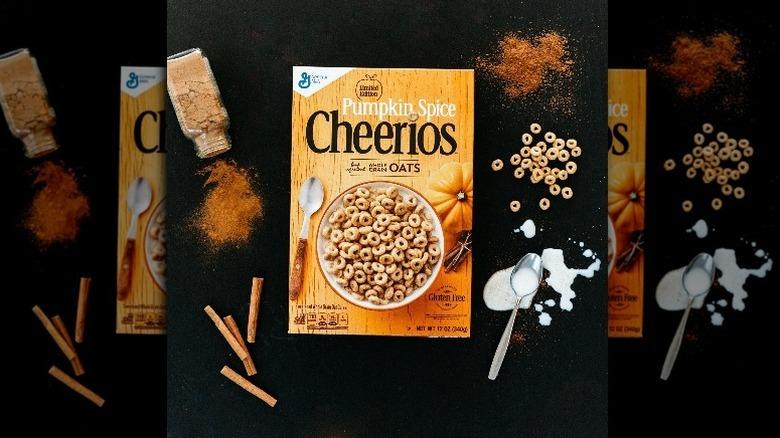 Pumpkin Spice Cheerios