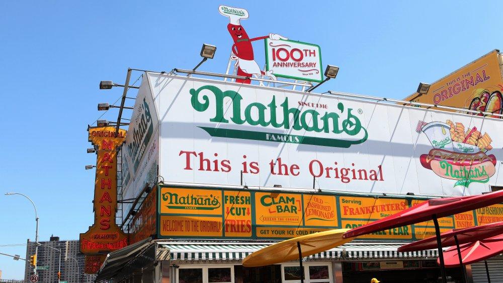 Nathan's Original Location