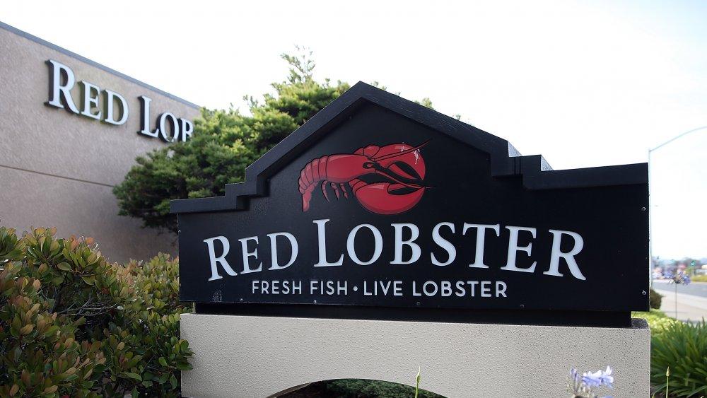 Red lobster storefront