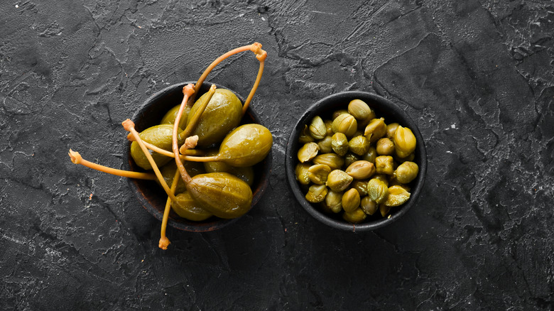 Large and small capers