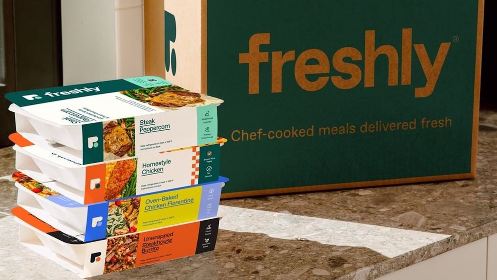 A box and meals from Freshly