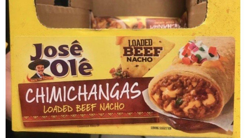Recalled Jose Ole chimichanga