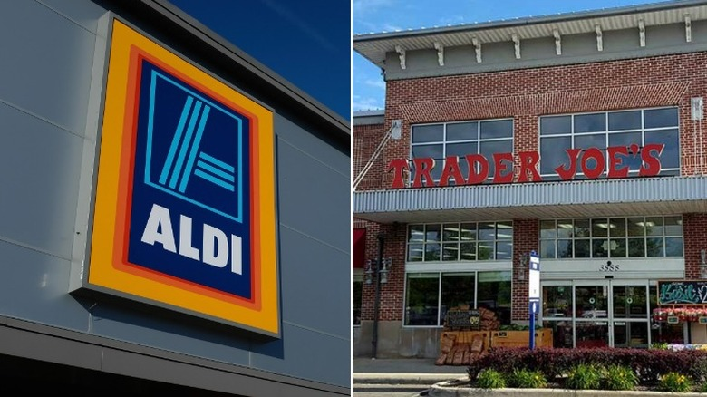 aldi and trader joes