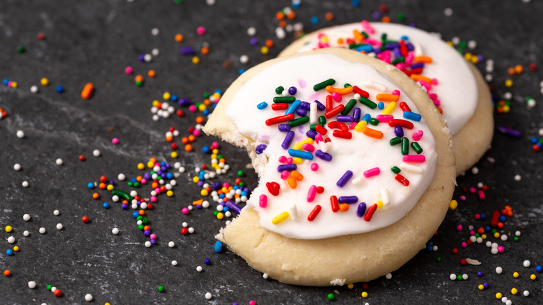 frosted cookies