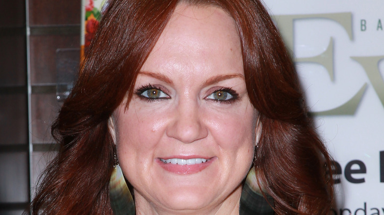 Ree Drummond smiles with wavy hair