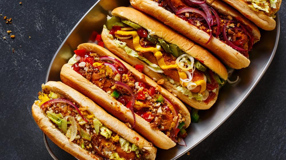 Hot dog styles