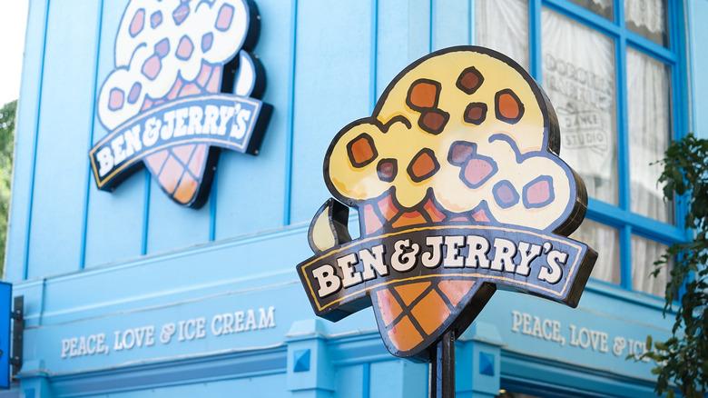 Ben & Jerry's exterior