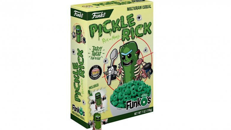 pickle rick cereal