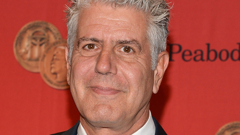 Chef, host, and author Anthony Bourdain