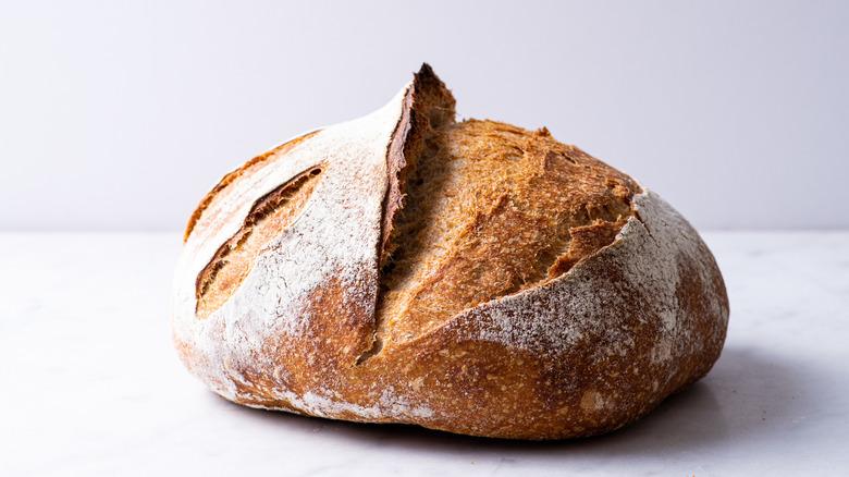 A sourdough loaf