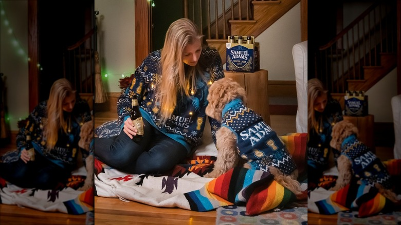 Sam Adams sweaters
