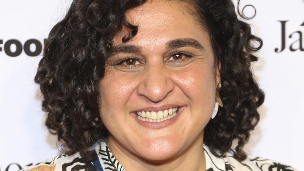 Samin Nosrat on red carpet