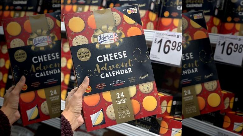 Aldi cheese advent calendar