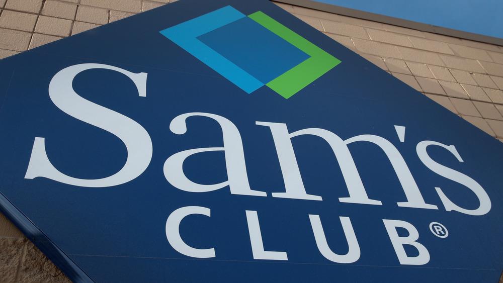 exterior sign sams club