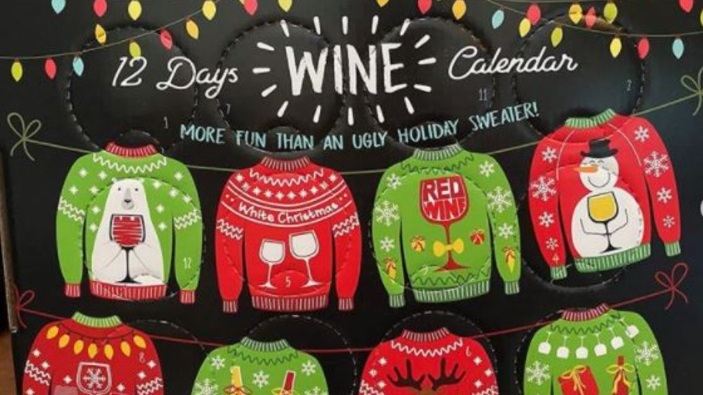 Sam's Club wine calendar