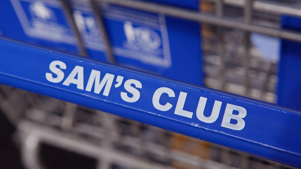 Sam's Club shopping cart