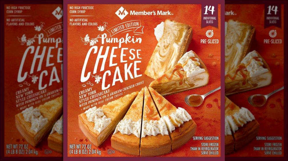 Sam's Club pumpkin cheesecake