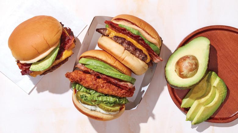 Shake Shack's new avocado burger