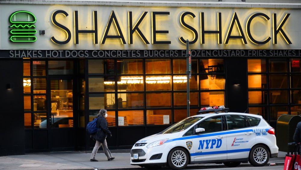 New York Shake Shack location