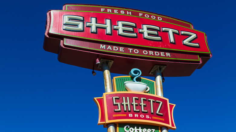 A Sheetz sign