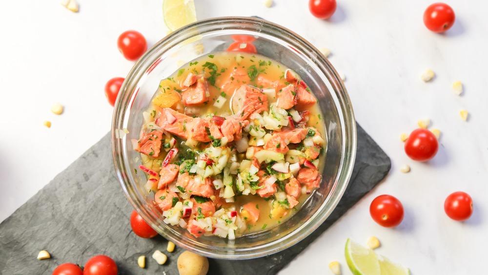 simple salmon ceviche recipe