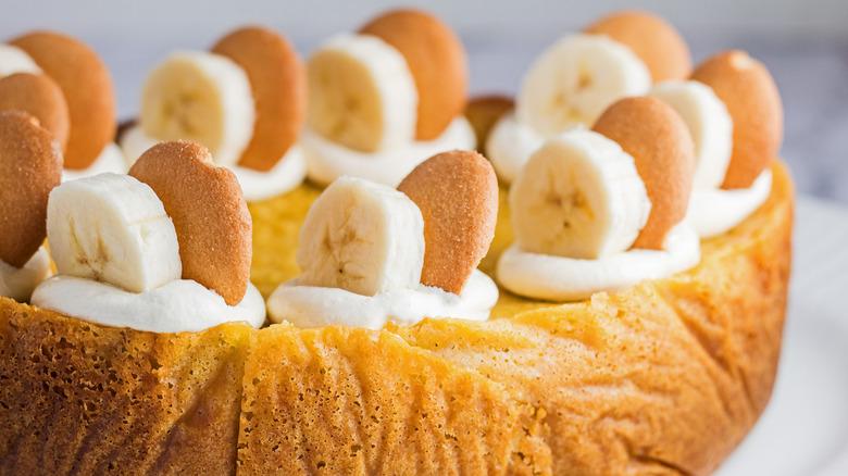 slow cooker banana pudding cake