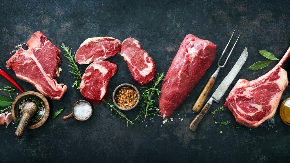 Butcher's beef