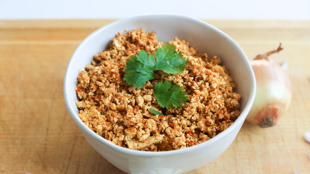 sofritas recipe in bowl