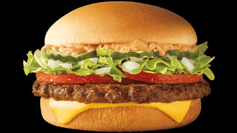 Sonic Crave Cheeseburger