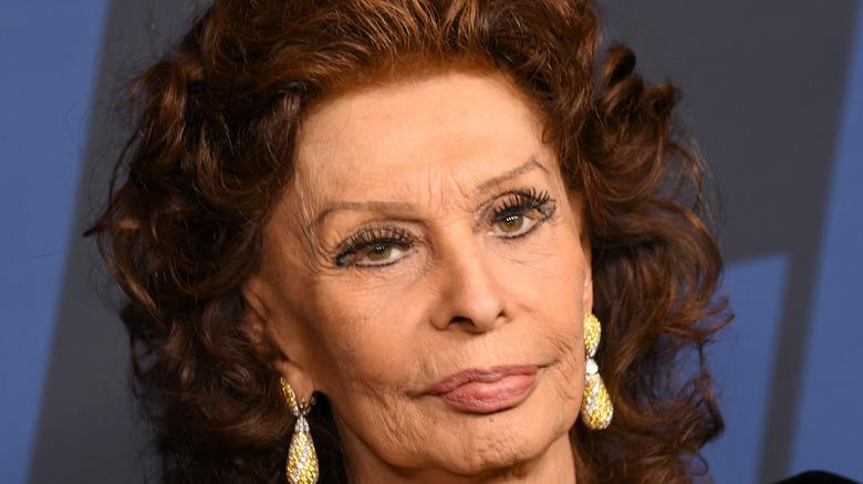 Sophia Loren in modern eyeliner