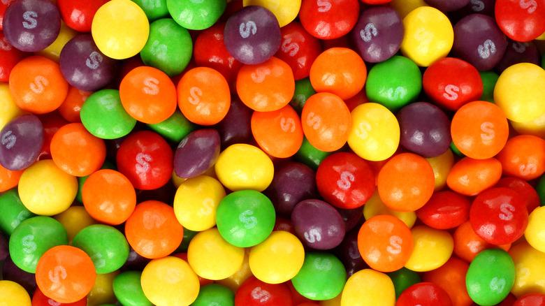 pile of Skittles