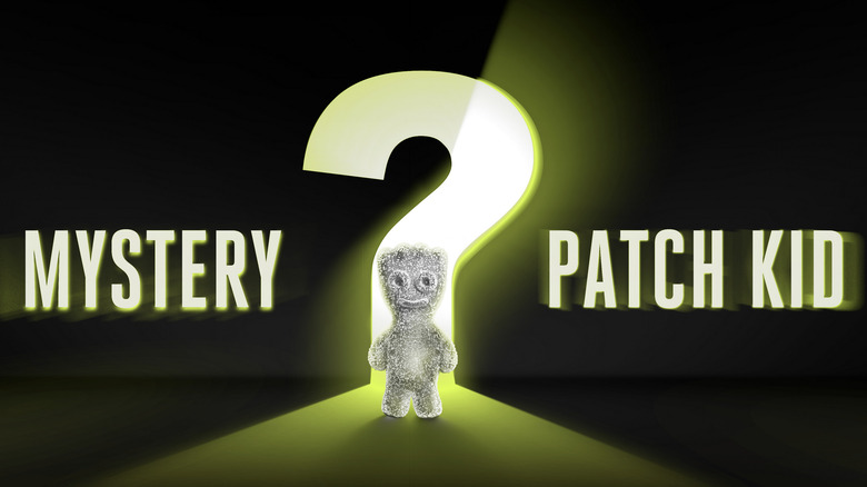 Mystery Sour Patch Kid advertisement