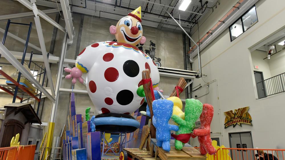 sour patch clown