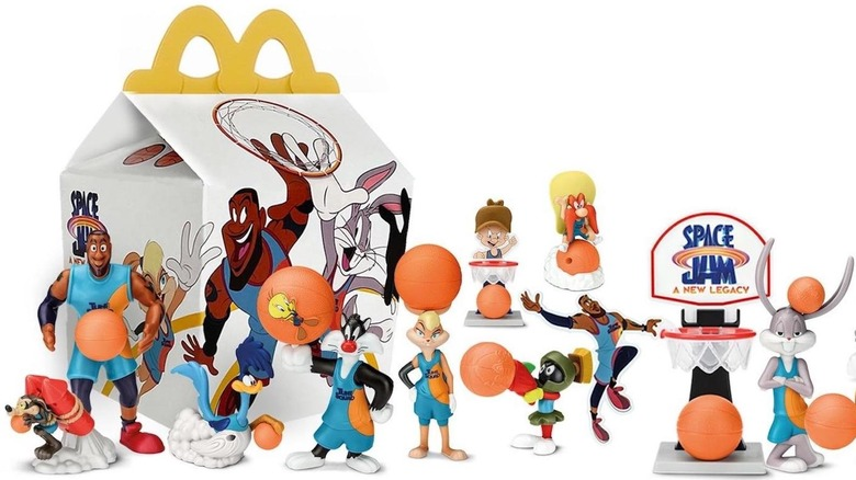 Space Jam Happy Meal Toys