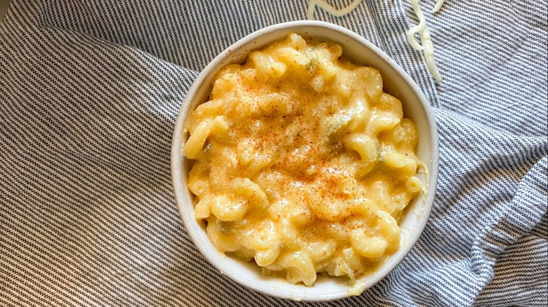 Photo of mac and cheese