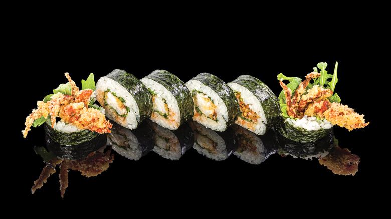 a spider roll