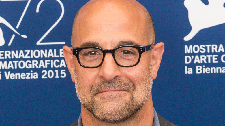 Stanley Tucci close-up