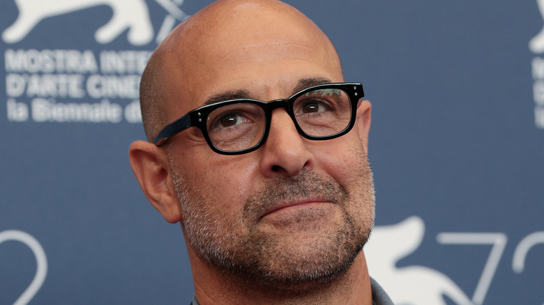 stanley tucci on the red carpet