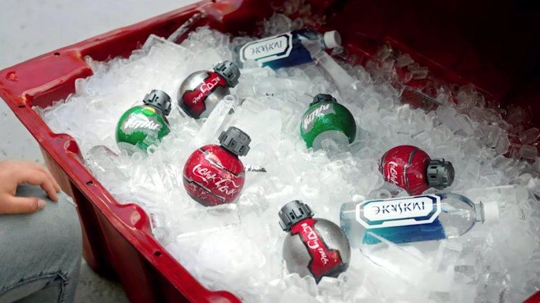 Star Wars: Galaxy's Edge Coke bottles