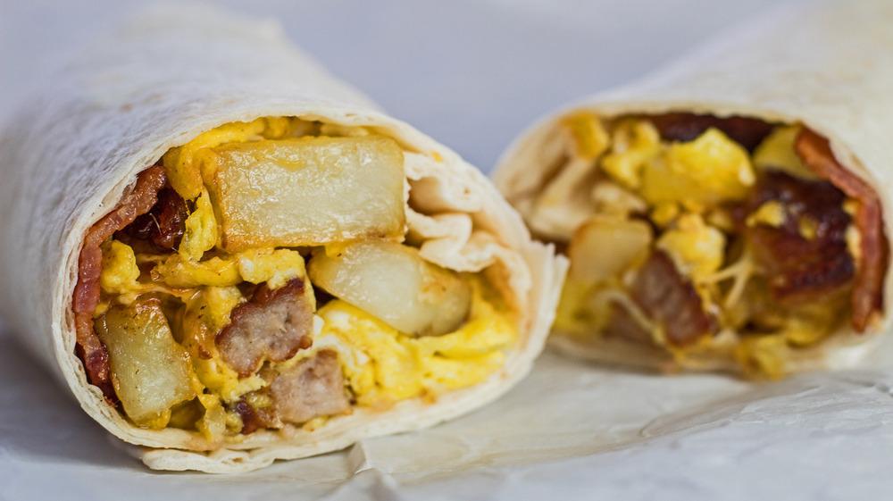 Starbucks Bacon, Sausage & Egg Wrap copycat recipe