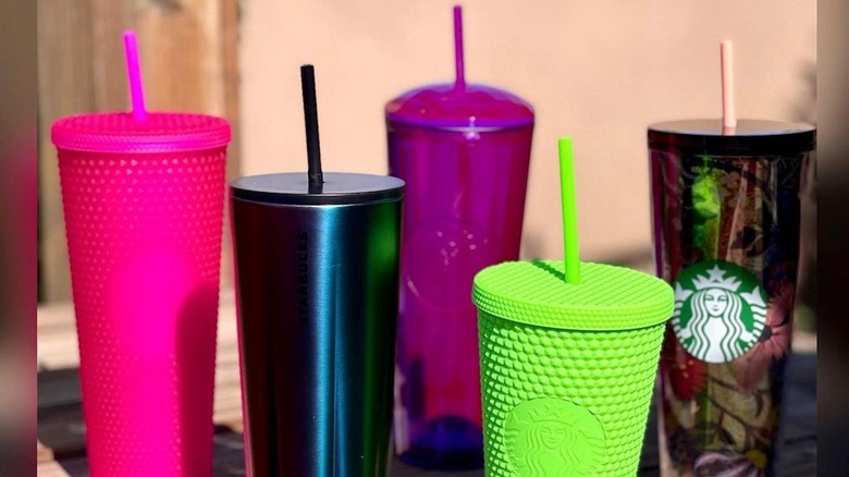 Colorful new cups from Starbucks