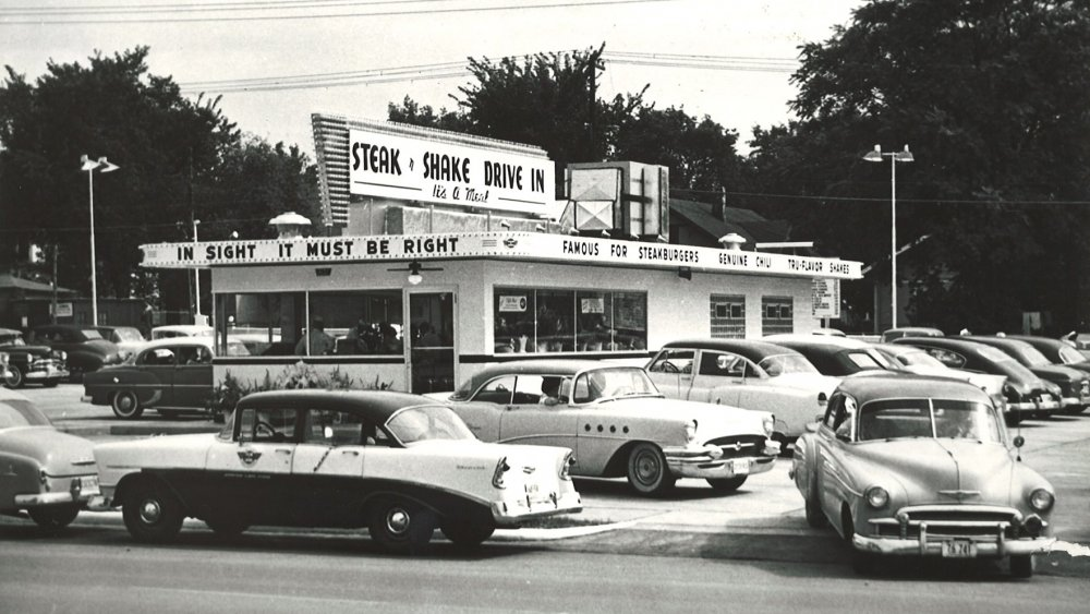 Steak 'n Shake from the 1950s